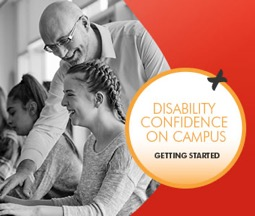Image to promote Disability Confidence on Campus