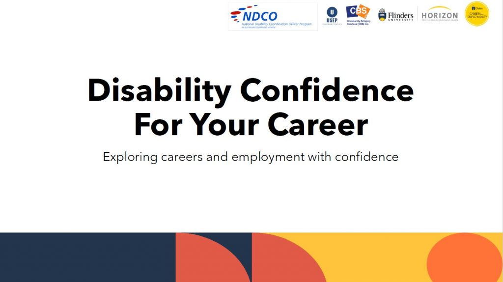 Disability Confidence for your Career